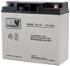 Akumulator AGM MWS 18-12 12V 18Ah żywotność 3-5 lat