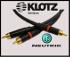 Audio-gd ::Interkonekt 2x(RCA-RCA 150cm) WTYKI NEUTRIK-REAN NYS373,  kabel KLOTZ AC110