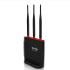 Netis :: WF2631 Beacon N300  Gaming Router, 3*5dBi external fixed antennas