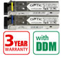 OPTIC SFP pair (2pcs) 1.25Gbps, LC SM, 3km, WDM (OPTIC-SFP-S1203-L3302-LC and OPTIC-SFP-S1205-L3302-LC)