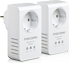 Phicomm :: FPA-211P 200Mbps Mini Passthrough Powerline  Adapter, Twin Pack (2 pcs)