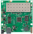 RouterBoard :: RB711GA-5HnD, 2x MMCX dual integrated radio 5GHz, 802.11a/n 25dBm, 1x USB (400MHz, 64MB RAM)