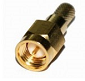 Connector SMA male crimp for H-155, gold-plated