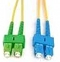 Patchcord OPTIC SC/APC-SC/UPC, SM G657A, DUPLEX, 0.5M, 3.0mm, LSZH