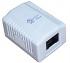 Digitus :: Gniazdko natynkowe, 1x RJ45 Ethernet Cat.5e (białe)