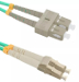 Patchcord OPTO LC/UPC-SC/UPC, MM 50/125 (OM4), DUPLEX, 1M