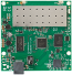 RouterBoard :: RB711-5HnD 2x MMCX, dual integrated radio 802.11a/n 25dBm (CPU 400MHz)