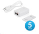 UBIQUITI :: (POE-24-24W-5P) PoE 24VDC 1A, for Carrier Instalations (earth grounding/ESD protection) GigaBit 5-pack