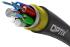 OPTIX cable ADSS-XOTKtsdD 72x9/125 6T12F ITU-T G.652D 4kN (SPAN 100m)
