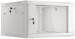 "Lanberg :: Rack Cabinet 19"" Wall-Mount 6U/600X600 (flat-pack) V2 Grey, Glass door"