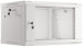 "Lanberg :: Rack Cabinet 19"" Wall-Mount 6U/600X450 (flat-pack) V2 Grey, Glass door"