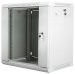 "Lanberg :: Rack Cabinet 19"" Wall-Mount 12U/600X450 (flat-pack) V2 Grey, Glass door"