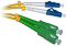 Patchcord OPTIC  LC/UPC-SC/APC, SM, 10M, DUPLEX