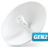 UBIQUITI  (PBE-5AC-Gen2) PowerBeam AC 5GHz Gen2