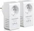 Phicomm :: FPA-511P 500Mbps Passthrough Powerline Network Adapter, Twin Pack (2pcs)