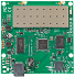 RouterBoard :: RB711-2HnD MMCX (CPU 400MHz) 32MB RAM, 1x LAN, 2GHz 802.11b/g/n 27dBm, dual wireless chain