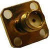Connector SMA Female, Frequency 0-18 GHz, 50 Ohm, TEFLON dielectric